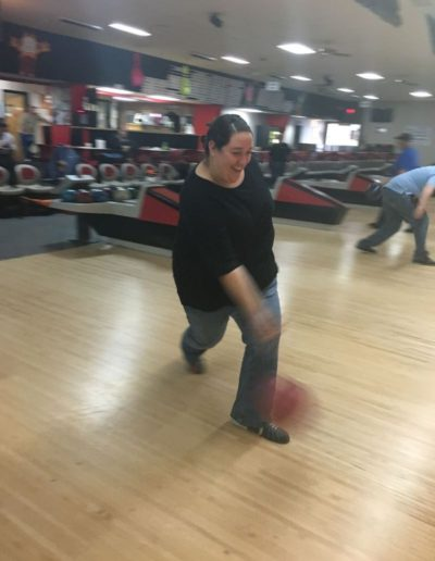 GC Jaci going for a strike